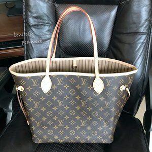 New Louis Vuitton neverfull mm bag